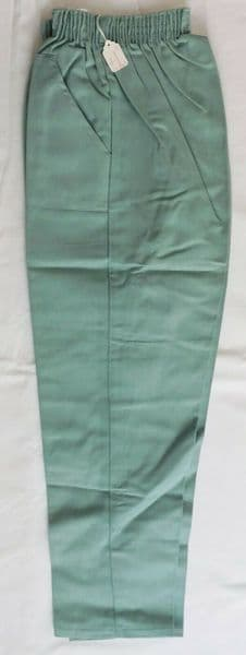 Vintage 1950s childrens green trousers 32